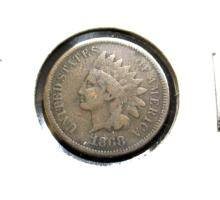 1868 Indian Head Cent -