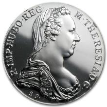 1 oz THERESA Silver Bullion Round