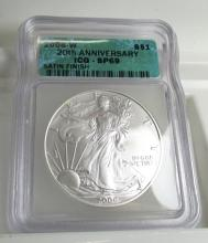 2006 W SP 69 ICG US Silver Eagle