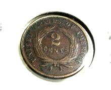 1867 Copper 2 Cent -
