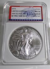 2015 ASE PERFECT Limited Edition Silver Eagle