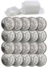 (20) Morgan Design Silver Rounds