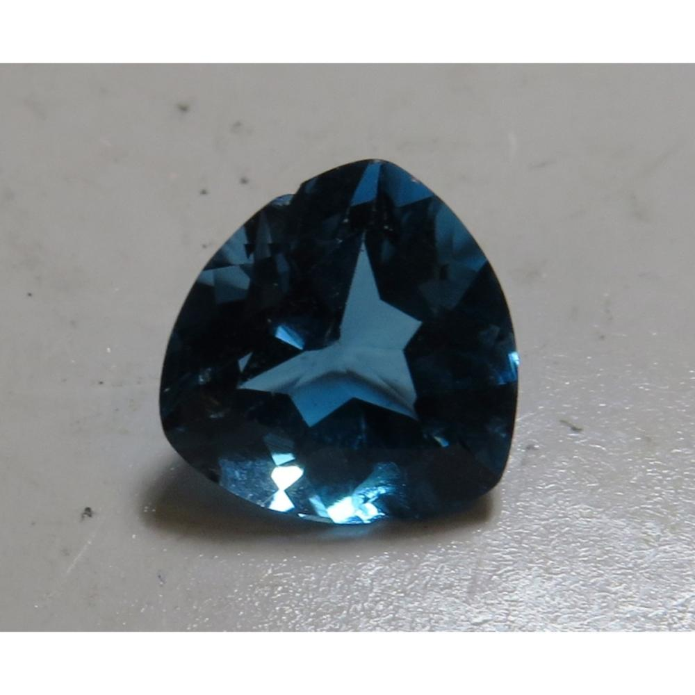 6 ct. London Blue Topaz Mount Removed Gemstone