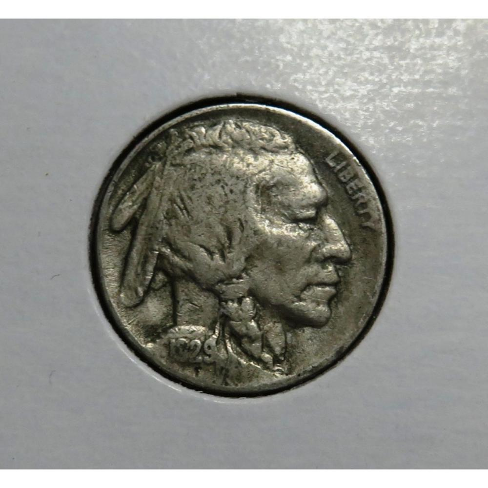 1929 S Better Date Buffalo Nickel