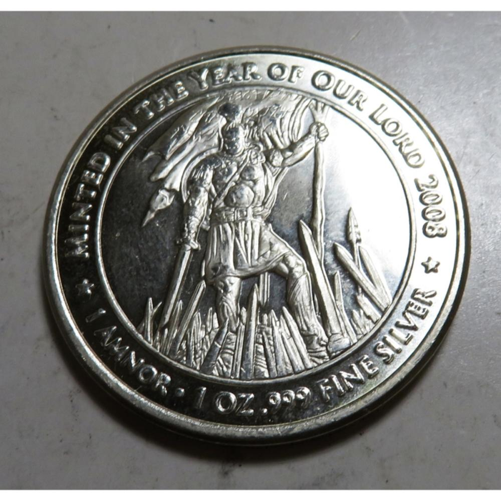 Title of Liberty 1 oz Silver Round