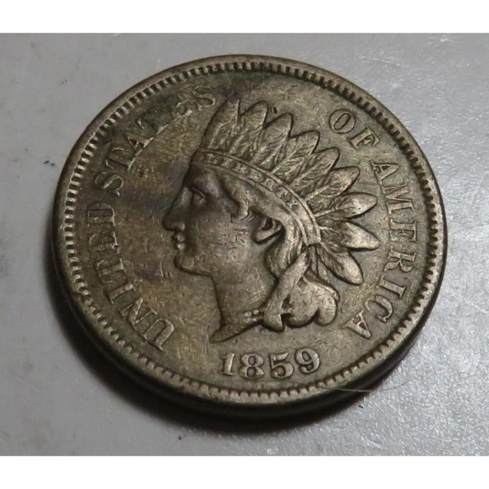 RARE 1859 Indian Head Cent
