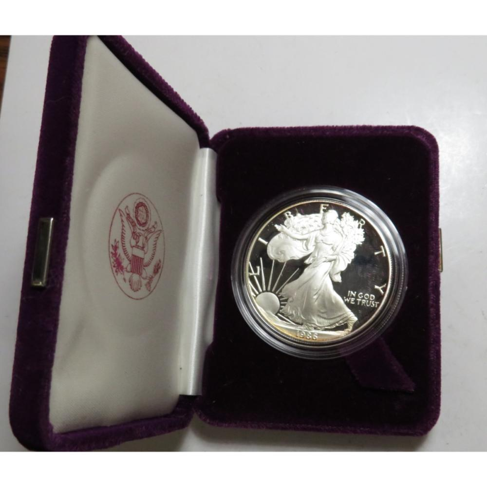 1986 Key Date 1st Year Proof Silver Eagle