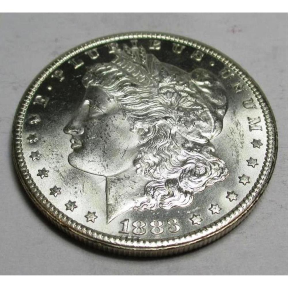 1883 Carson City Uncirculated Morgan Dollar