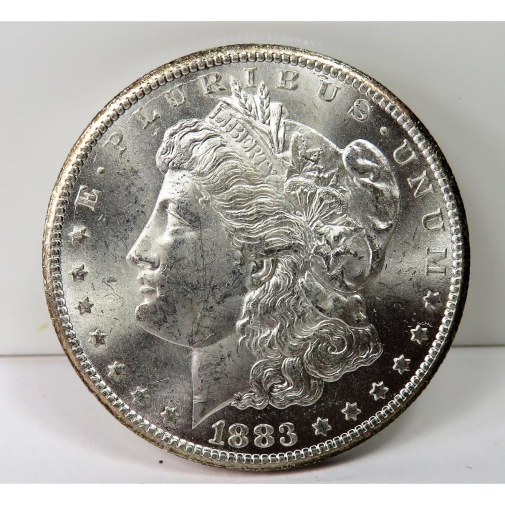 1883 Carson City Morgan Silver Dollar BU Grade
