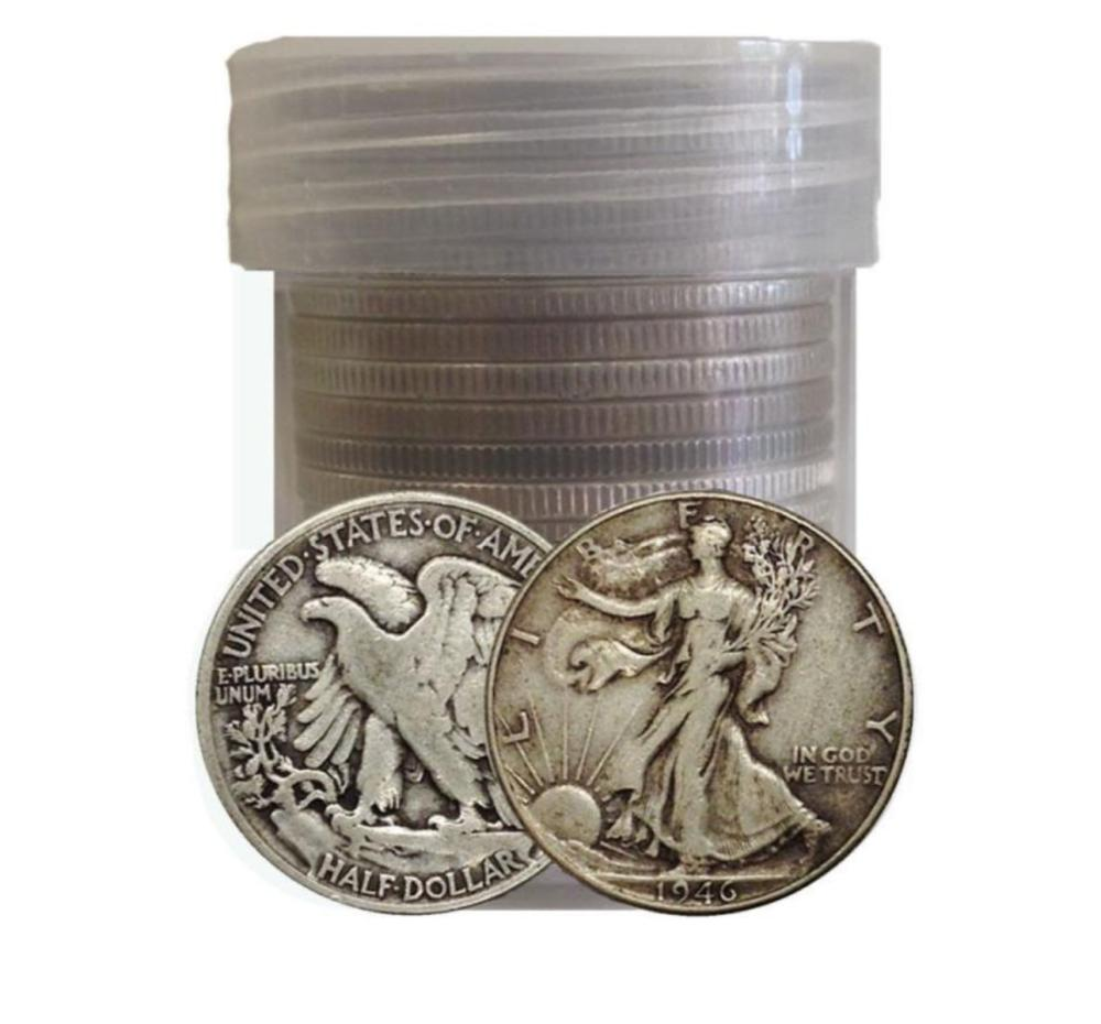 (20) Walking Liberty Half Dollars -90% Silver