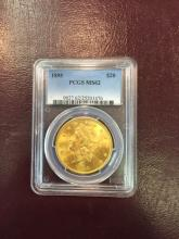 1895 MS 62 PCGS $ 20 Gold Double Eagle