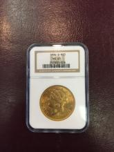 1906 s MS 61 NGC $ 20 Gold Double Eagle