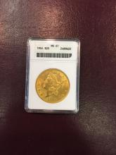 1904 MS 61 ANACS $ 20 Gold Double Eagle