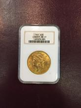 1907 MS 61 NGC $ 20 Gold Double Eagle