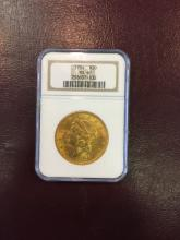 1904 MS 61 NGC $ 20 Gold Double Eagle