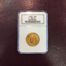 1926 MS 62 NGC $ 10 Gold Indian