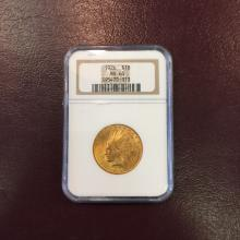 1926 MS 63 NGC $ 10 Gold Indian