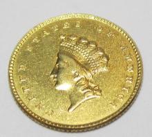 RARE Type II Gold Princess $ 1 Gold Coin