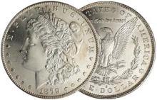 1879 s BU Morgan Silver Dollar