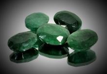 19.65 tcw. Natural Emerald Green Beryl Gem Parcel