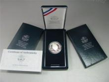 1990 Ike Silver Proof Commemorative
