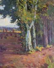 Schmidt, Alfred (1867 Dresden - 1960 Stuttgart, Studium in Karlsruhe bei Claus Meyer und in Paris an der Acad. Julian, ab 1900 in Stuttgart tätig, wo er eine Malschule gründete, Maler und Lithograf)