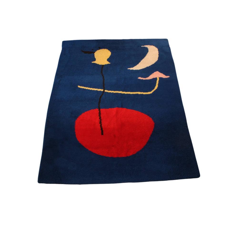 Miró, Joan, nach, Teppich, Motiv 'Spanish Dancer', ca. 2.30 x 1.95 m