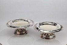 Pr Gorham Silver Martele Compotes C1909