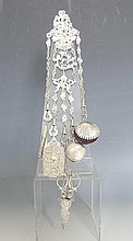 English Silver Chatelaine