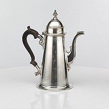 A Silver Coffee Pot