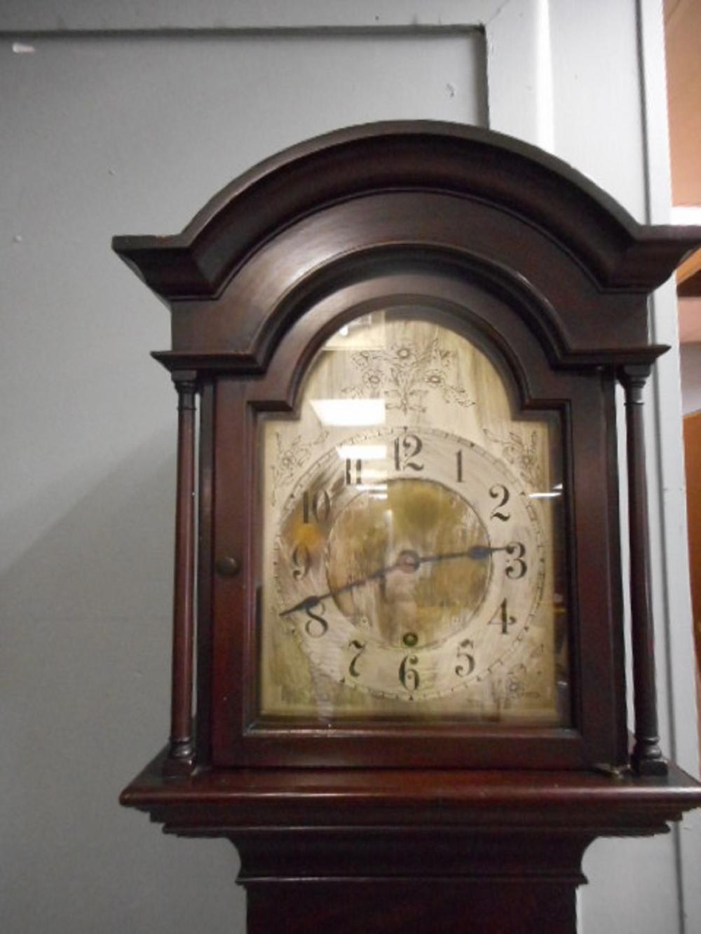 Antique Bailey Banks Biddle 1800 S Long Case Grandfather Clock