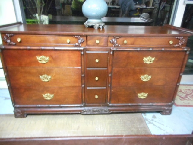 Vintage asian rosewood server buffet dresser furniture stun for South asian furniture