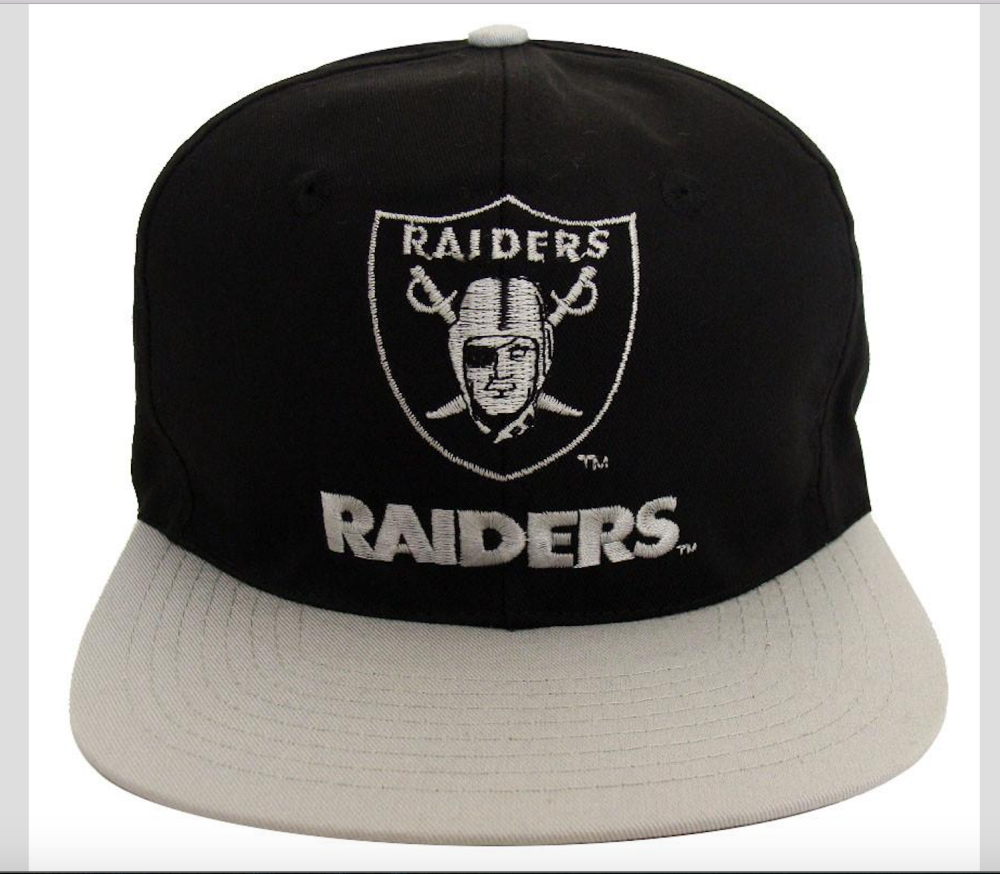 72 PIECES LICENSED NFL LOS ANGELES RAIDERS HATS RETAIL VALUE ce59b2579