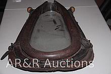 Vintage Horse Collar Mirror