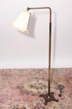 Edwardian Adjustable Standard Lamp,