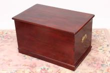 Large Mahogany Blanket Box,