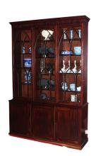 Magnificent Late Georgian Three Door Bookcase,