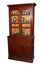 Good Victorian Mahogany Bookcase,