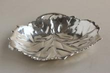 American Lambert Sterling Silver Leaf Dish,