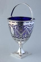 George III Sterling Silver Sugar Basket,