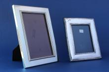 Two Silver Plate Photo Frames,