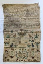 Early Victorian Sampler,