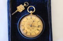 Victorian Gentleman's 18ct Gold Pocket Watch,