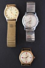 Three Gentleman's Wristwatches,