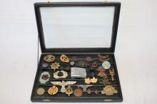 Collection Of Various Military Badges,