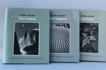 Three Books by Ansell Adams,