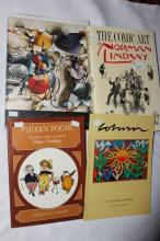 Four Various Art Reference Books,