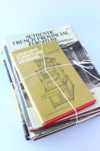 Five Furniture Reference Books,