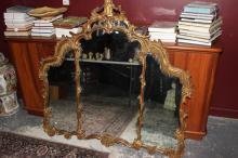 Georgian Style Gilt Wall Mirror,
