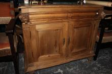 French Provincial Pine Buffet,